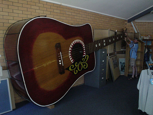 Huge Acoustic Guitar