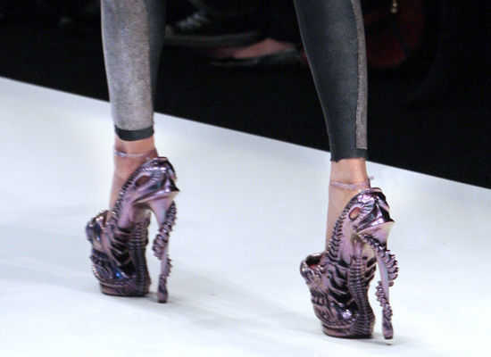 cead6196f4ee This is an Alexander McQueen creation. He s a fashion designer that is well  loved by people like Lady Gaga and Daphne Guinness.